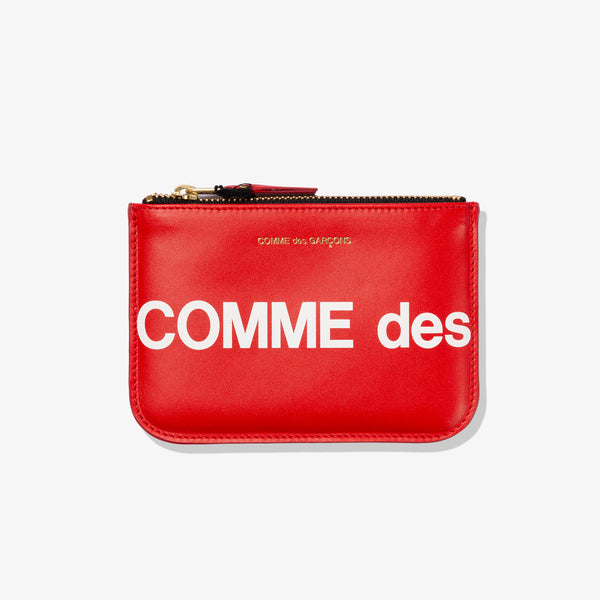HUGE LOGO POUCH (RED)