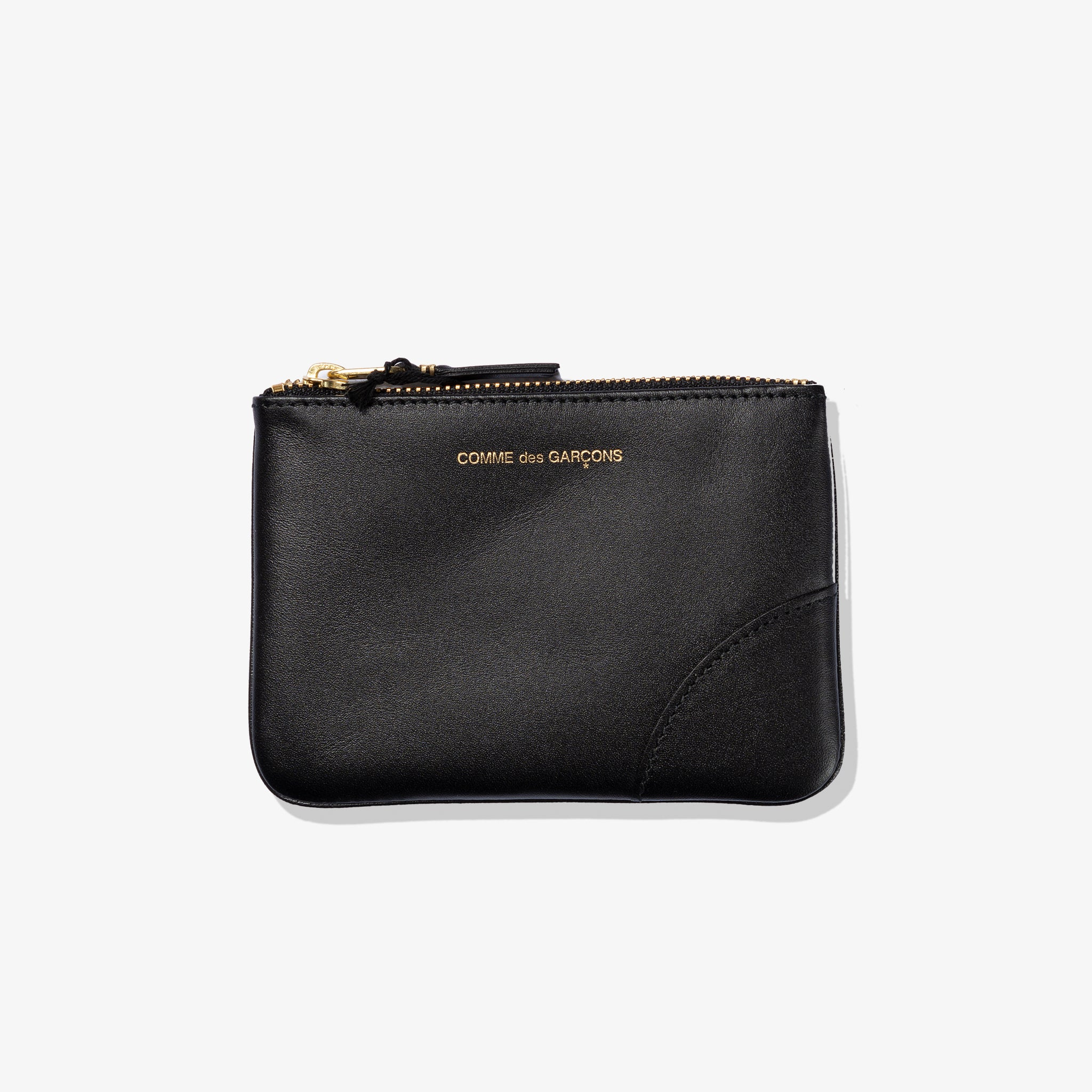 CLASSIC LEATHER POUCH (BLACK)