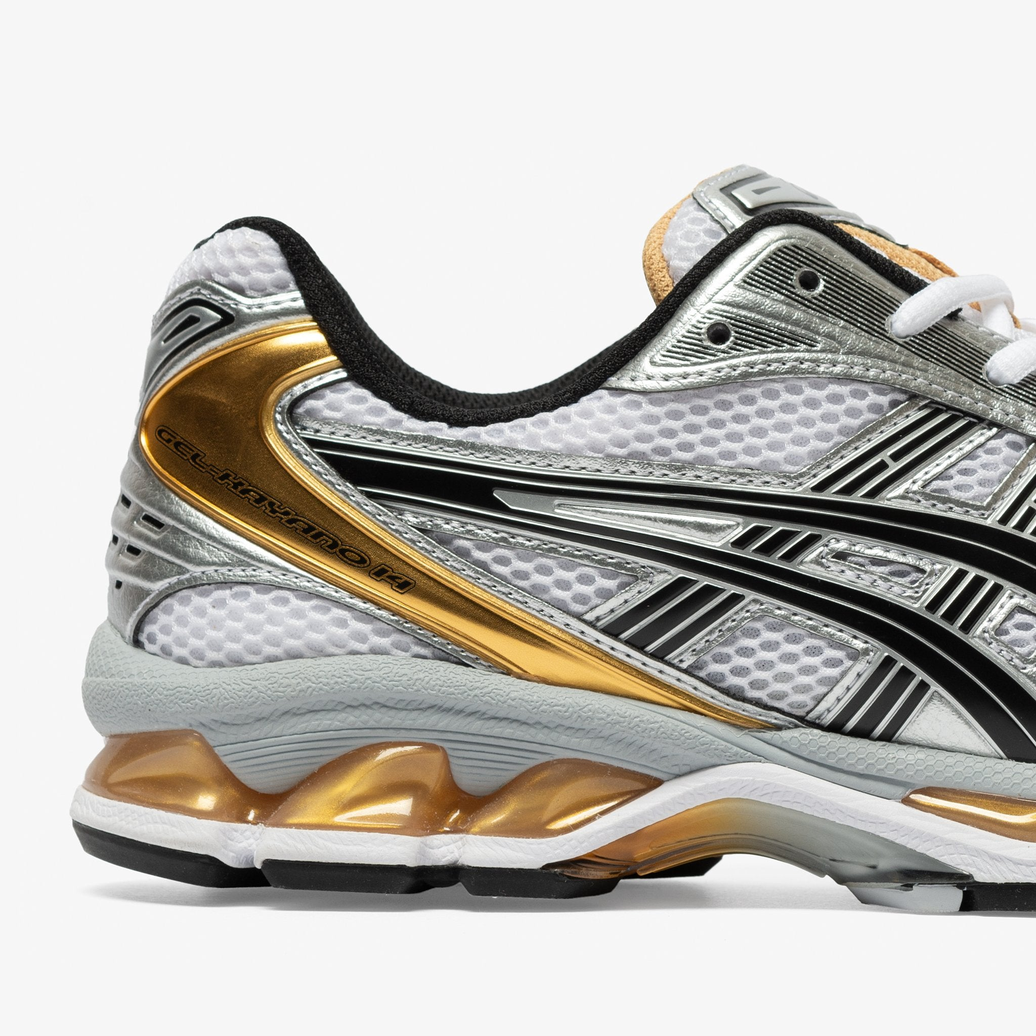 WOMEN'S GEL-KAYANO 14 WHITE/PURE GOLD