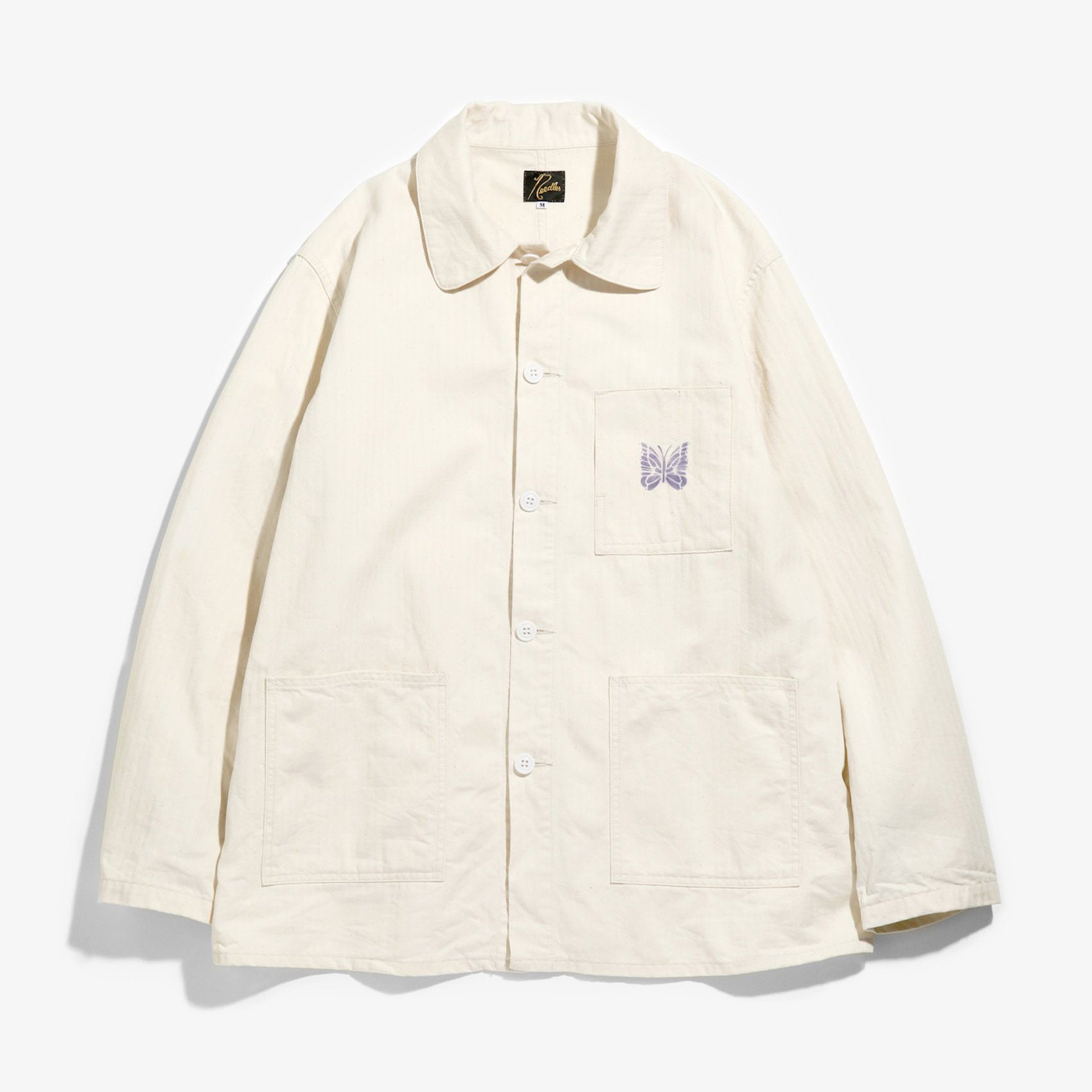 D.N. Coverall Jacket (Off White)