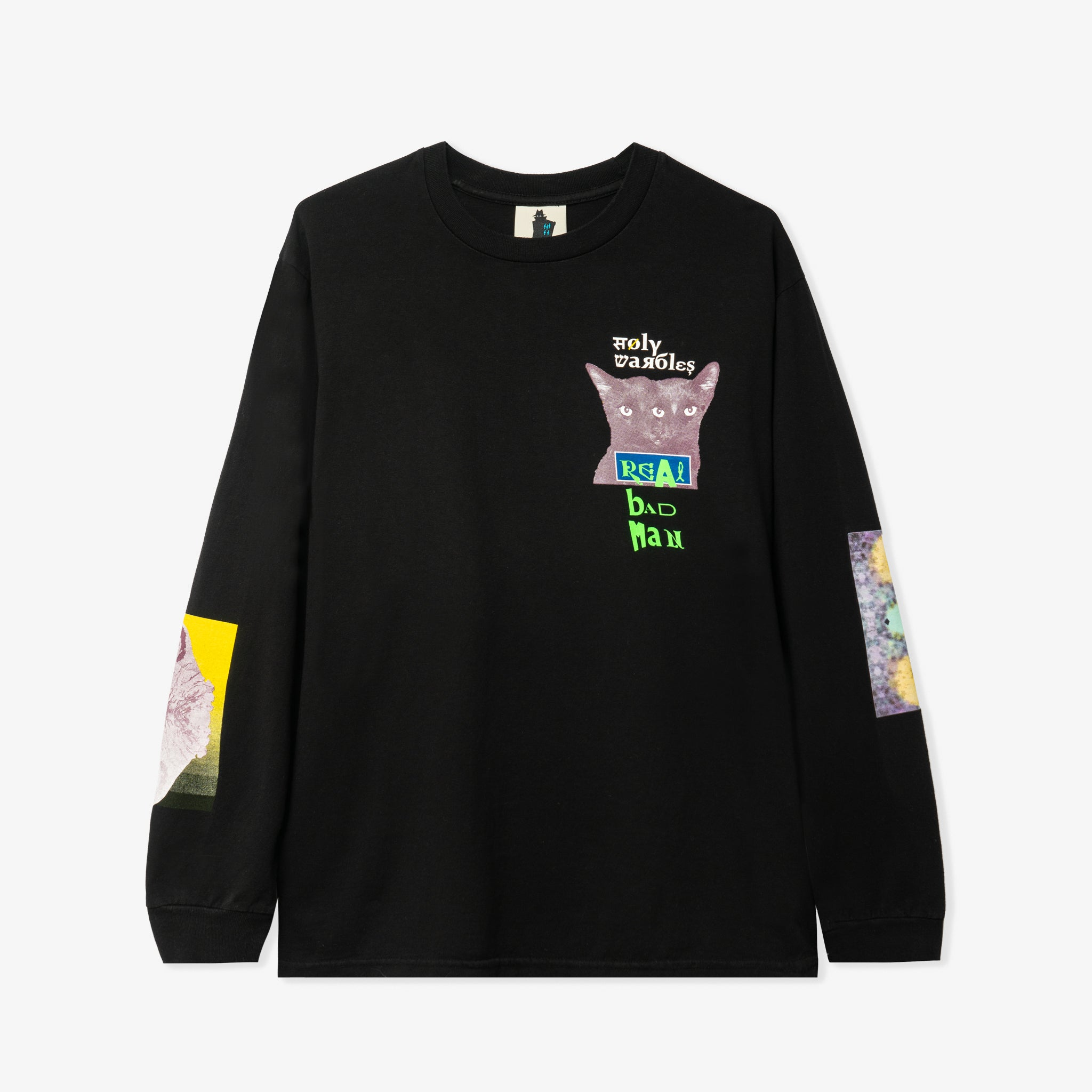 Tribute To Warbles LS TEE (Black)