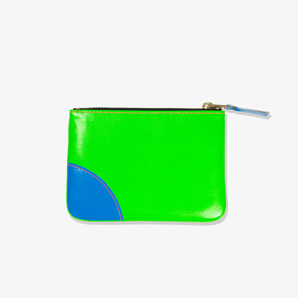 SUPER FLUO POUCH (GREEN ORANGE)