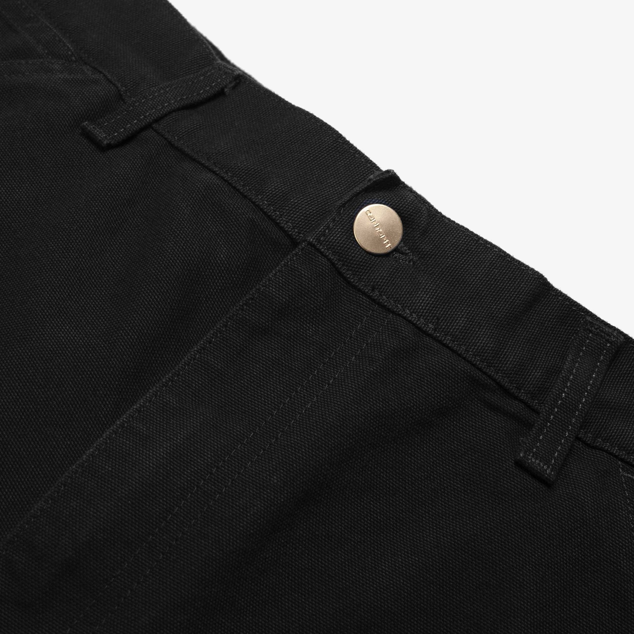 Single Knee Pant (Black Rinsed)