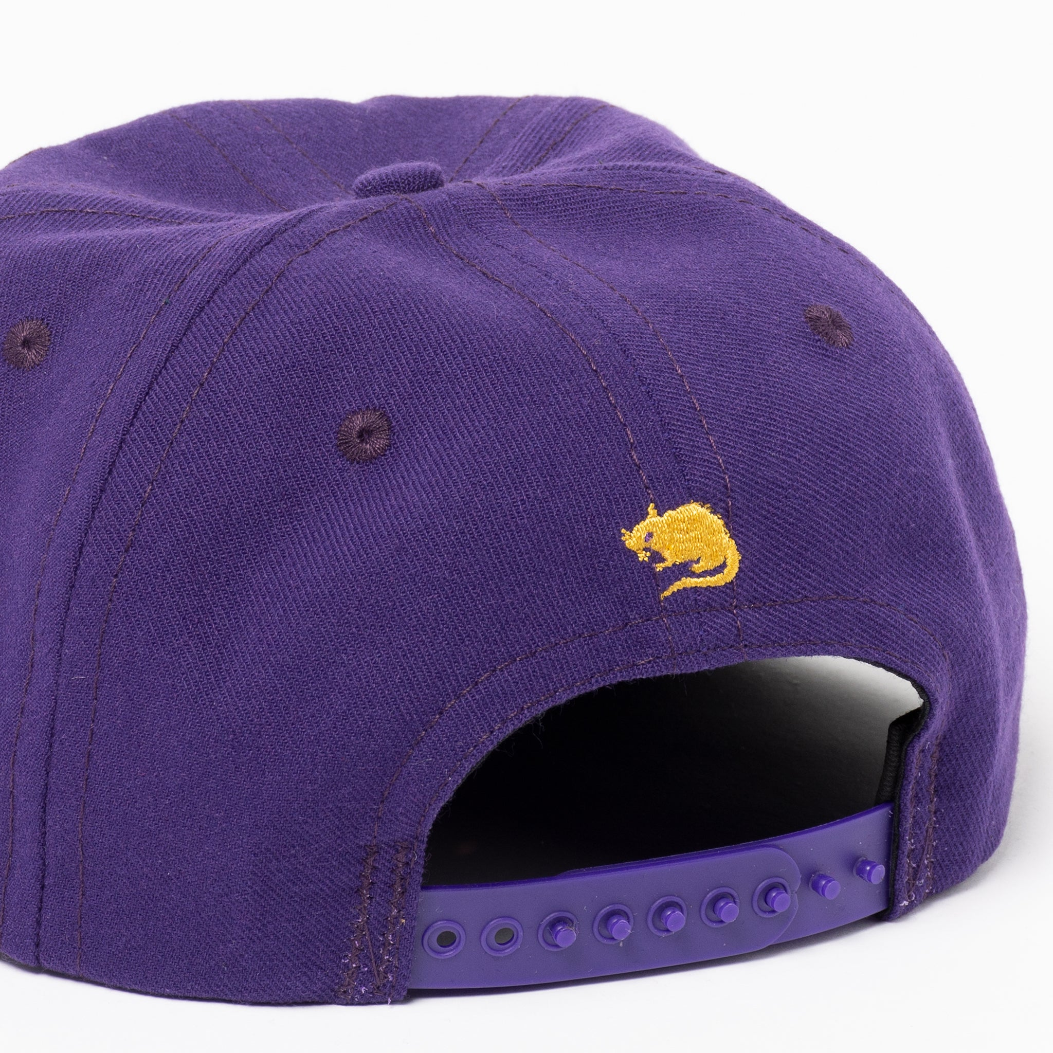 2-Tone College Arch Snap (Purple)
