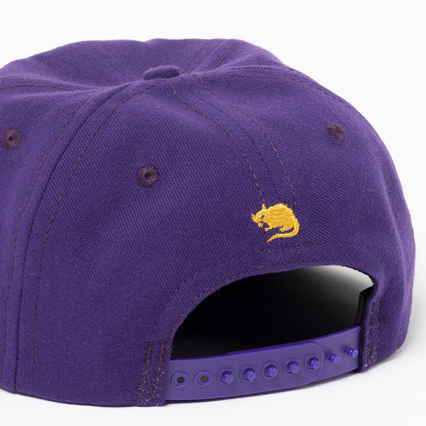 S Star Hat (Plum)