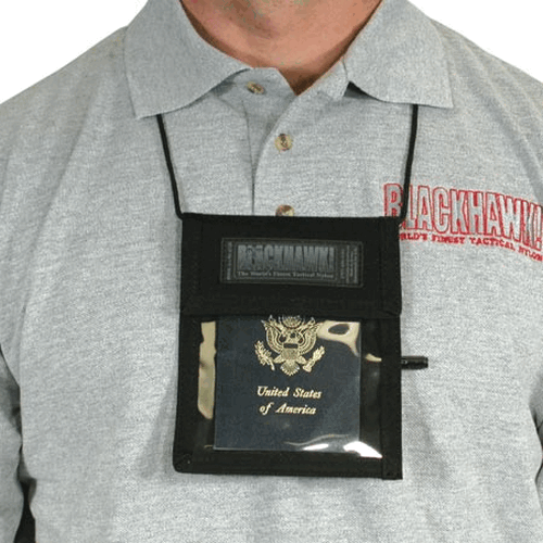 Neck Id-badge-pen Holder-Tactical & Duty Gear-Blackhawk!-Gama Optics: Shooting, Hunting & Survival Gear