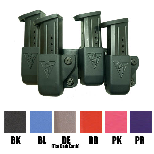 Belt Feed 4 Magazine OWB Kydex Pouch-Tactical & Duty Gear-Comp-tac-Gama Optics: Shooting, Hunting & Survival Gear