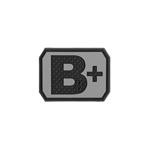 B+ Blood Type Morale Patch-Clothing-Maxpedition-Gama Optics - Hunting, Shooting & Survival Gear
