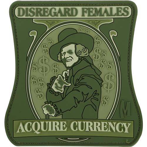 Disregard Morale Patch-Clothing-Maxpedition-Gama Optics - Hunting, Shooting & Survival Gear