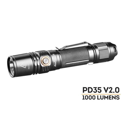 Pd35 V2.0 1000 Lumens Flashlight-Tactical & Duty Gear-Fenix-Gama Optics - Hunting, Shooting & Survival Gear