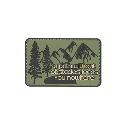 Without Obstacles Morale Patch-Clothing-5ive Star Gear-Gama Optics - Hunting, Shooting & Survival Gear