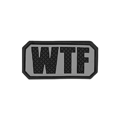 WTF Patch-Clothing-Maxpedition-Gama Optics - Hunting, Shooting & Survival Gear