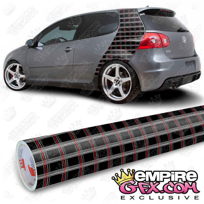 MK5 Interlagos Plaid Wrap Vinyl