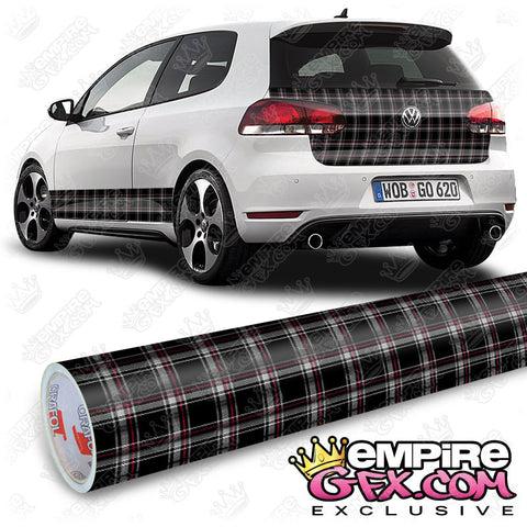 MK6 Interlagos Plaid Wrap Vinyl