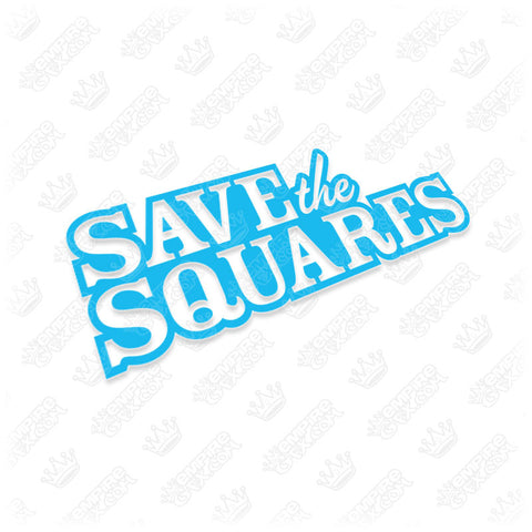 Save The Squares Logo