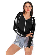 Solid Color Hooded Long-sleeved Sweater - Shop Shiningbabe - Womens Fashion Online Shopping Offering Huge Discounts on Shoes - Heels, Sandals, Boots, Slippers; Clothing - Tops, Dresses, Jumpsuits, and More.