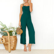 Sexy Sling Wrapped Chest Zipper Jumpsuit - Shop Shiningbabe - Womens Fashion Online Shopping Offering Huge Discounts on Shoes - Heels, Sandals, Boots, Slippers; Clothing - Tops, Dresses, Jumpsuits, and More.