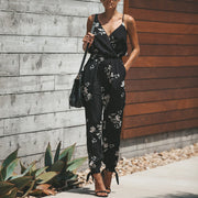 Printed Sexy Halter Straps Jumpsuit - Shop Shiningbabe - Womens Fashion Online Shopping Offering Huge Discounts on Shoes - Heels, Sandals, Boots, Slippers; Clothing - Tops, Dresses, Jumpsuits, and More.