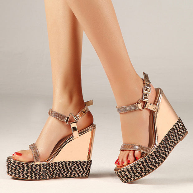 Fashion Sexy Platform Wedge Sandals - Shop Shiningbabe - Womens Fashion Online Shopping Offering Huge Discounts on Shoes - Heels, Sandals, Boots, Slippers; Clothing - Tops, Dresses, Jumpsuits, and More.