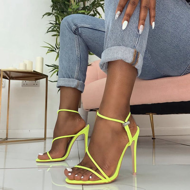 Fashion Cross Strap High Heel Sandals - Shop Shiningbabe - Womens Fashion Online Shopping Offering Huge Discounts on Shoes - Heels, Sandals, Boots, Slippers; Clothing - Tops, Dresses, Jumpsuits, and More.