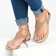 Roman Lace-up Women's Hollow Flat Sandals - Shop Shiningbabe - Womens Fashion Online Shopping Offering Huge Discounts on Shoes - Heels, Sandals, Boots, Slippers; Clothing - Tops, Dresses, Jumpsuits, and More.