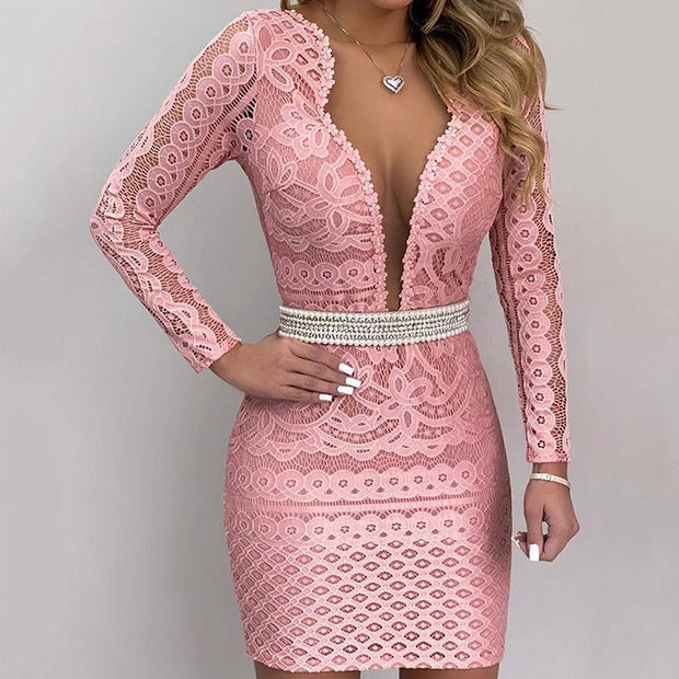 Printed Long Sleeve Suit Sexy Dress - Shop Shiningbabe - Womens Fashion Online Shopping Offering Huge Discounts on Shoes - Heels, Sandals, Boots, Slippers; Clothing - Tops, Dresses, Jumpsuits, and More.