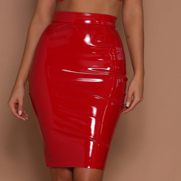 Sexy High Waist Bag Hip Zipper PU Skirt - Shop Shiningbabe - Womens Fashion Online Shopping Offering Huge Discounts on Shoes - Heels, Sandals, Boots, Slippers; Clothing - Tops, Dresses, Jumpsuits, and More.
