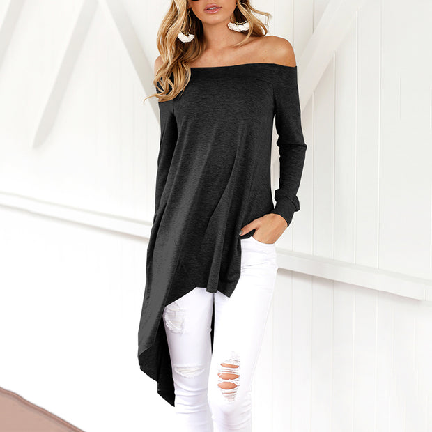Sexy Mesh Patchwork Slinky Blouse - Shop Shiningbabe - Womens Fashion Online Shopping Offering Huge Discounts on Shoes - Heels, Sandals, Boots, Slippers; Clothing - Tops, Dresses, Jumpsuits, and More.