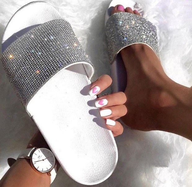 Women's Fashion Rhinestone Sandals - Shop Shiningbabe - Womens Fashion Online Shopping Offering Huge Discounts on Shoes - Heels, Sandals, Boots, Slippers; Clothing - Tops, Dresses, Jumpsuits, and More.