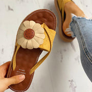 Toe Post Flower Design Flat Sandals - Shop Shiningbabe - Womens Fashion Online Shopping Offering Huge Discounts on Shoes - Heels, Sandals, Boots, Slippers; Clothing - Tops, Dresses, Jumpsuits, and More.