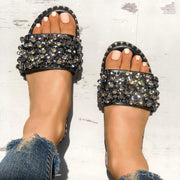 Sequins Shiny Peep Toe Antiskid Sandals - Shop Shiningbabe - Womens Fashion Online Shopping Offering Huge Discounts on Shoes - Heels, Sandals, Boots, Slippers; Clothing - Tops, Dresses, Jumpsuits, and More.