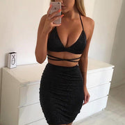 Lace-up Nightclub Bodycon Dress - Shop Shiningbabe - Womens Fashion Online Shopping Offering Huge Discounts on Shoes - Heels, Sandals, Boots, Slippers; Clothing - Tops, Dresses, Jumpsuits, and More.