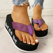 Toe Post Platform Muffin Sandals - Shop Shiningbabe - Womens Fashion Online Shopping Offering Huge Discounts on Shoes - Heels, Sandals, Boots, Slippers; Clothing - Tops, Dresses, Jumpsuits, and More.