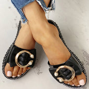 Studded Bead Ring Design Flat Sandals - Shop Shiningbabe - Womens Fashion Online Shopping Offering Huge Discounts on Shoes - Heels, Sandals, Boots, Slippers; Clothing - Tops, Dresses, Jumpsuits, and More.