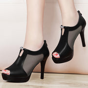Mesh Pointed Sexy High Heel Sandals - Shop Shiningbabe - Womens Fashion Online Shopping Offering Huge Discounts on Shoes - Heels, Sandals, Boots, Slippers; Clothing - Tops, Dresses, Jumpsuits, and More.