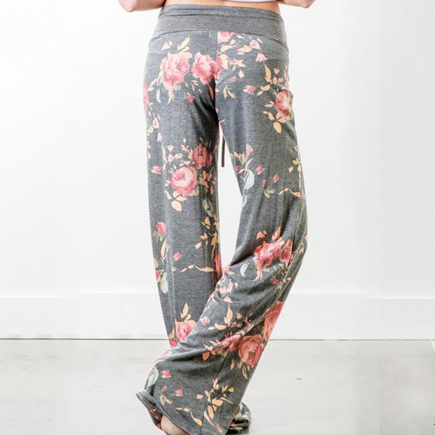 Loose Tie Camouflage Printed Pants - Shop Shiningbabe - Womens Fashion Online Shopping Offering Huge Discounts on Shoes - Heels, Sandals, Boots, Slippers; Clothing - Tops, Dresses, Jumpsuits, and More.