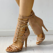 Stylish Lace-up Bandage Stiletto Pumps - Shop Shiningbabe - Womens Fashion Online Shopping Offering Huge Discounts on Shoes - Heels, Sandals, Boots, Slippers; Clothing - Tops, Dresses, Jumpsuits, and More.
