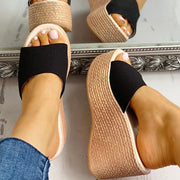 Summer Platform Espadrille Wedge Sandals - Shop Shiningbabe - Womens Fashion Online Shopping Offering Huge Discounts on Shoes - Heels, Sandals, Boots, Slippers; Clothing - Tops, Dresses, Jumpsuits, and More.