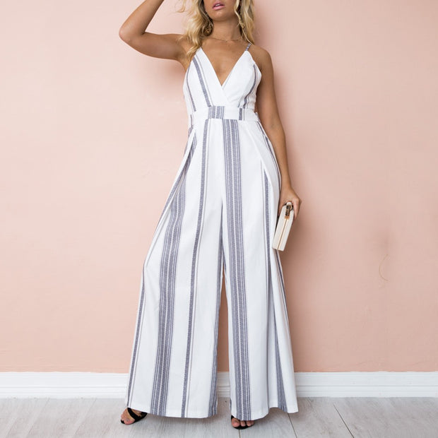Printed strapless strapless jumpsuit - Shop Shiningbabe - Womens Fashion Online Shopping Offering Huge Discounts on Shoes - Heels, Sandals, Boots, Slippers; Clothing - Tops, Dresses, Jumpsuits, and More.