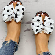 Bowknot Design Open Toe Sandals - Shop Shiningbabe - Womens Fashion Online Shopping Offering Huge Discounts on Shoes - Heels, Sandals, Boots, Slippers; Clothing - Tops, Dresses, Jumpsuits, and More.