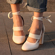 Cross Strap High Heels - Shop Shiningbabe - Womens Fashion Online Shopping Offering Huge Discounts on Shoes - Heels, Sandals, Boots, Slippers; Clothing - Tops, Dresses, Jumpsuits, and More.