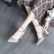 Fashion Suede High Heel Sandals - Shop Shiningbabe - Womens Fashion Online Shopping Offering Huge Discounts on Shoes - Heels, Sandals, Boots, Slippers; Clothing - Tops, Dresses, Jumpsuits, and More.