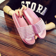 Casual Glossy Wild Sandals - Shop Shiningbabe - Womens Fashion Online Shopping Offering Huge Discounts on Shoes - Heels, Sandals, Boots, Slippers; Clothing - Tops, Dresses, Jumpsuits, and More.