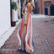 Cross straps bohemian print large backless dress - Shop Shiningbabe - Womens Fashion Online Shopping Offering Huge Discounts on Shoes - Heels, Sandals, Boots, Slippers; Clothing - Tops, Dresses, Jumpsuits, and More.
