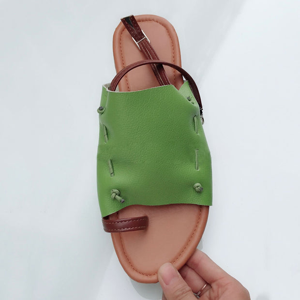 Buckle Strap Solid Front Rear Sandals - Shop Shiningbabe - Womens Fashion Online Shopping Offering Huge Discounts on Shoes - Heels, Sandals, Boots, Slippers; Clothing - Tops, Dresses, Jumpsuits, and More.