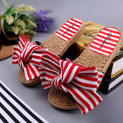 Stylish Bow Flat Slippers - Shop Shiningbabe - Womens Fashion Online Shopping Offering Huge Discounts on Shoes - Heels, Sandals, Boots, Slippers; Clothing - Tops, Dresses, Jumpsuits, and More.