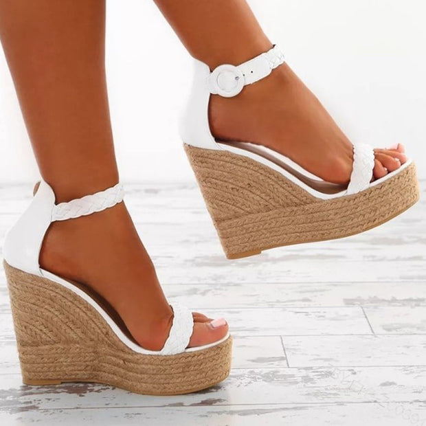 Women's Fashion Platform Straps Wedge Sandals - Shop Shiningbabe - Womens Fashion Online Shopping Offering Huge Discounts on Shoes - Heels, Sandals, Boots, Slippers; Clothing - Tops, Dresses, Jumpsuits, and More.