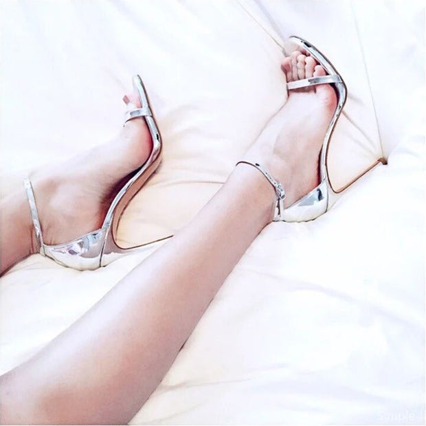 Peep Toe Ankle Strap Sandal - Shop Shiningbabe - Womens Fashion Online Shopping Offering Huge Discounts on Shoes - Heels, Sandals, Boots, Slippers; Clothing - Tops, Dresses, Jumpsuits, and More.