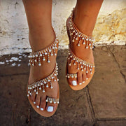 Fashion Roman Pearl Sandals - Shop Shiningbabe - Womens Fashion Online Shopping Offering Huge Discounts on Shoes - Heels, Sandals, Boots, Slippers; Clothing - Tops, Dresses, Jumpsuits, and More.