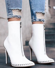 Fashion Pointed Rivet Heels - Shop Shiningbabe - Womens Fashion Online Shopping Offering Huge Discounts on Shoes - Heels, Sandals, Boots, Slippers; Clothing - Tops, Dresses, Jumpsuits, and More.
